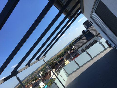 Terrassenüberdachung Pulvereschichtet